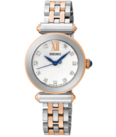 SRZ400P1   27.50mm Classic Bicolor Rose Ladies Watch with Crystal Indexes