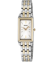 15mm Rectangular Bicolor Ladies Watch