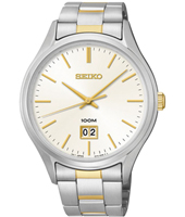 42mm Bicolor 10 ATM Watch with Big Date