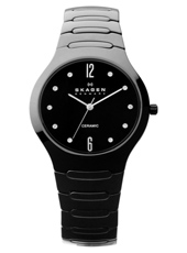 Skagen 817-Ceramic-Sleek 817SBXBC - 2012 Spring Summer Collection