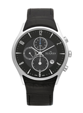 Skagen 329-Chrono 329XLSLB - 2012 Fall Winter Collection