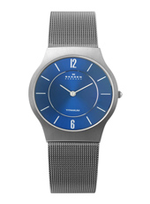 Skagen 233-Titanium-Round 233LTTN - 2012 Fall Winter Collection