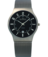 Skagen 233-Titanium-Round 233XLTTB - 2012 Spring Summer Collection