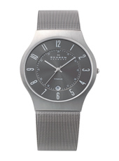 Skagen 233-Titanium-Round 233XLTTM - 2012 Spring Summer Collection