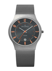 Skagen 233-Titanium-Round 233XLTTMO - 2012 Spring Summer Collection
