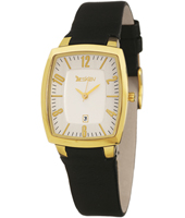 SG1-105-5  28mm Gold Ladies Watch with Date & Sapphire Crystal