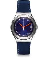 Blue Bienne 38mm Irony Big Watch