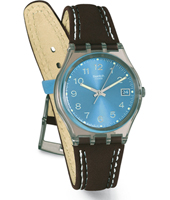 Blue Choco 34mm Standard Size Watch