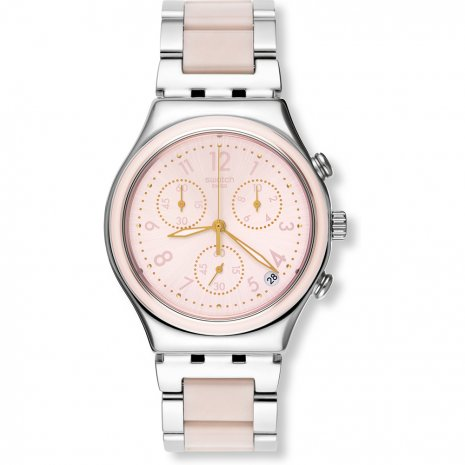 swatch dreamnight rose watch