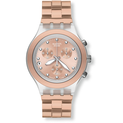 Swatch Core Collection Full-Blooded Caramel SVCK4047AG