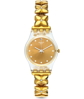Golden Keeper 25mm Sophisticated Ladies Quartz Watch