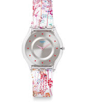 Jardin Fleuri 34mm Ultra Thin Skin Watch