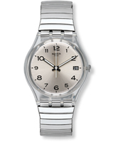 Silverall 34mm Standard Size Watch