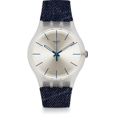 Swatch 2013 White Washed Out SUOK103