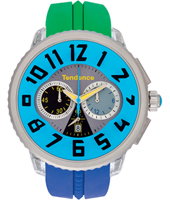 Tendence Crazy-Chrono-Blue T0460410 -