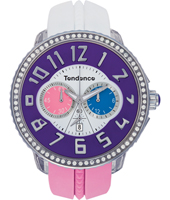 Tendence Crazy-Chrono-Purple T0460405 -