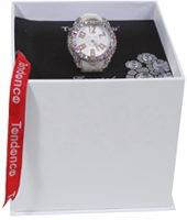 Tendence Crystal-Art--White-Rose-Gold TFC33002 -