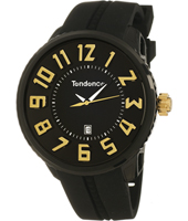 Tendence Gulliver-Round-Black-&-Yellow TE02043011 -