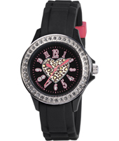 Tikkers Black-Glitter-heart TK0048 - 2012 Fall Winter Collection