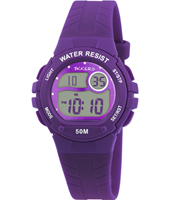 Digi Tik Purple Digital Children's watch