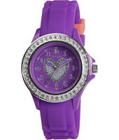 Tikkers Purple-Glitter-heart TK0067 - 2012 Fall Winter Collection