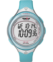Timex Clear-View-30-Laps-Mid-Blue T5K602 -