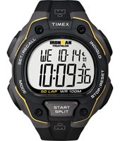 Timex Core-50-Lap-Grey/Yellow T5K494 -