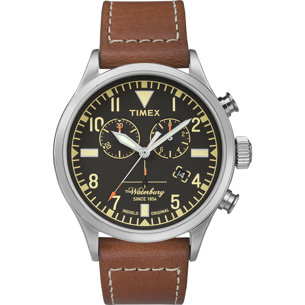 Timex tw2p84300 style watch heritage waterbury for The waterbury