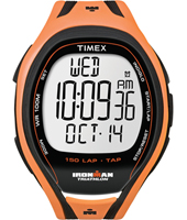 Timex Ironman-Sleek-150-Tapscreen-Full-Orange T5K254 -  