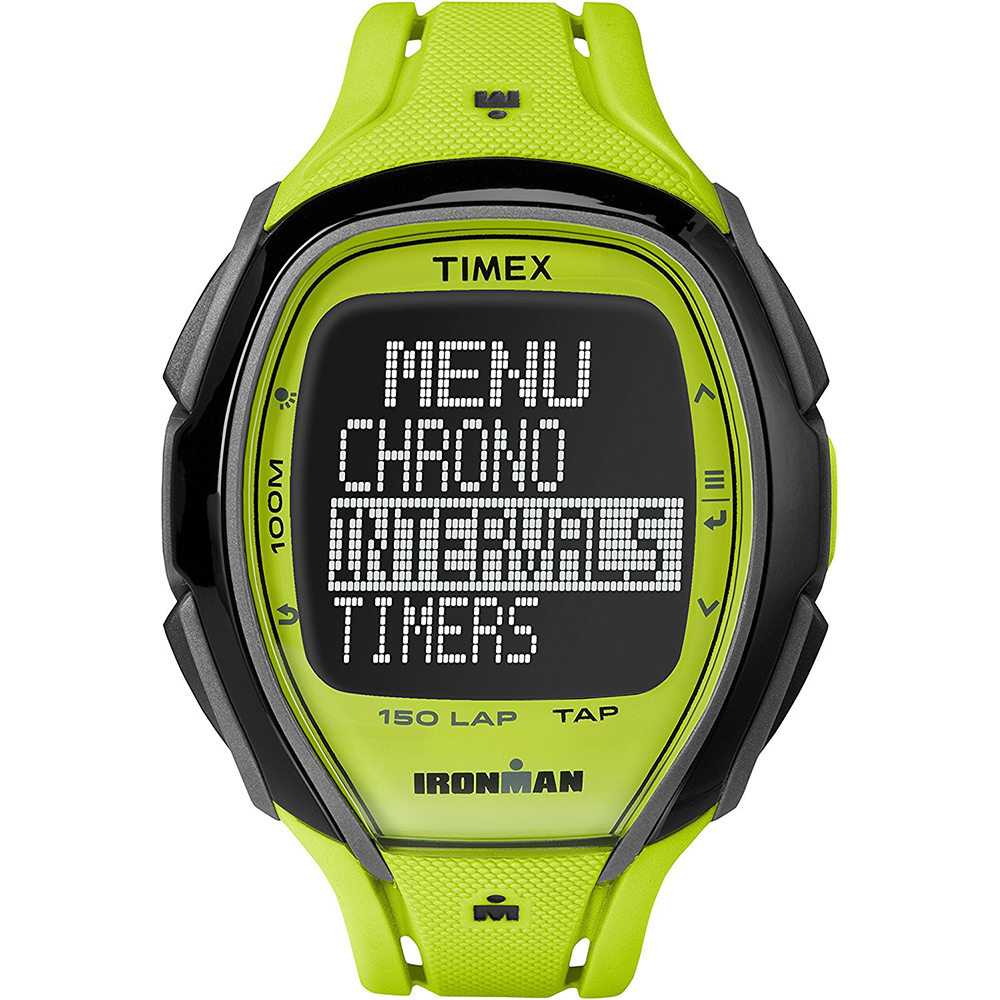 The Timex Ironman Run Trainer was designed for runners who want to say goodbye to repetitive loops, complicated mapping and over-planning. With a large, easy-to-read, customizable display, you can see exactly what you want during a workout. The 8-hour battery life and 50m water resistance give you the reliability you need from a training tool.