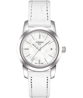 Classic Dream Lady  28mm White & Steel Watch with Date
