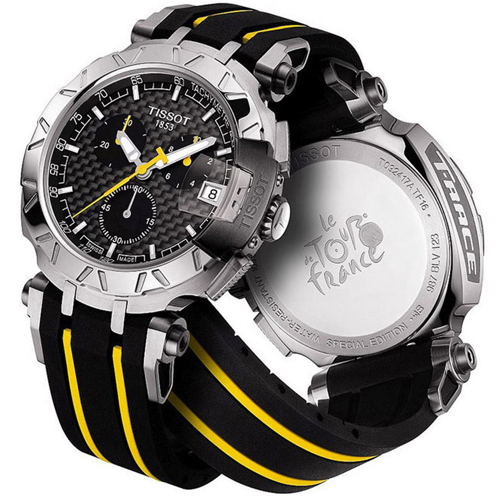 Tissot t0924171720100 watch tf16 tour de france for Watches of france