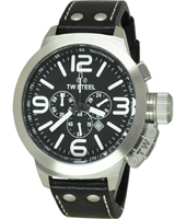 TW Steel Canteen-Chrono-Black-Dial TW4 - 2008 Fall Winter Collection