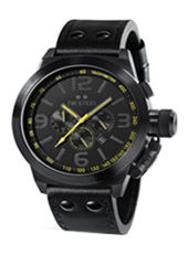TW Steel Canteen-Cool-Black-Chrono-Yellow TW900 - 2011 Fall Winter Collection