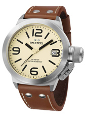 TW Steel Canteen-Creme-Dial TW1R - 2012 Spring Summer Collection