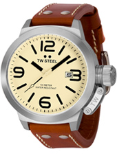 TW Steel Canteen-Creme-Dial TW21R - 2012 Spring Summer Collection