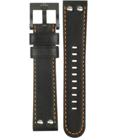 TW Steel CEO-Canteen-Black-&-Orange-Strap CEB115 -