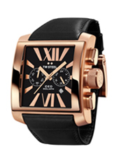 TW Steel CEO-Goliath-Chrono-Rose-Gold-&amp;-Black CE3012 -  