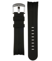 TW Steel Black-Rubber-XL-TW-STEEL-Strap TWB120L -
