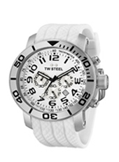 TW Steel Grandeur-Diver-Chrono-White TW94 -  