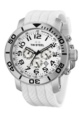 TW Steel Grandeur-Diver-Chrono-White TW95 -  