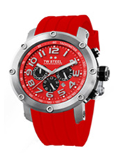 TW Steel Grandeur-Tech-Chrono-Red-Dial TW124R -