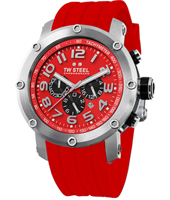 TW Steel Grandeur-Tech-Chrono-Red-Dial TW125R -
