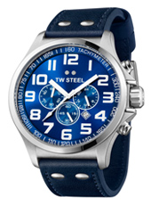 TW Steel Pilot-Chrono-Steel-Blue TW403 - 2013 Spring Summer Collection