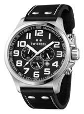 TW Steel Pilot-Chrono-Steel-Black TW413 - 2013 Spring Summer Collection