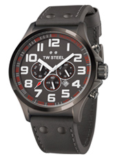 TW Steel Pilot-Chrono-All-Anthracite TW422 - 2013 Spring Summer Collection