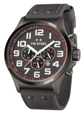 TW Steel Pilot-Chrono-All-Anthracite TW423 - 2013 Spring Summer Collection