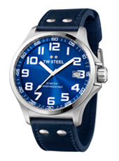 TW Steel Pilot-Steel-Blue TW400 - 2013 Spring Summer Collection
