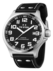 TW Steel Pilot-Steel-Black TW409 - 2013 Spring Summer Collection