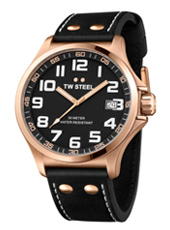 TW Steel Pilot-Rose-Gold-Black TW416 - 2013 Spring Summer Collection